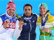 Sochi 2014 Day 8 - Medal Ceremony