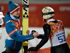 Sochi 2014 Day 8 - Ski Jumping Men's Large Hill Individual Qualification Round