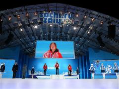 Sochi 2014 Day 9 - Medal Ceremony