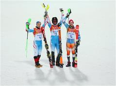 Sochi 2014 Day 16 - Alpine Skiing Men's Slalom Run