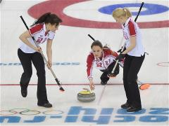 Sochi 2014 Day 10 - Curling Women's Round Robin Session