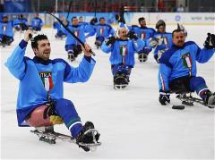 Sochi 2014 Paralympic Games - Ice Sledge Hockey Preliminary Rounds Day 6