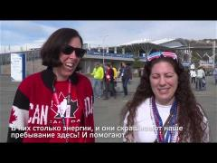 What can you say about Sochi 2014 Volunteers?