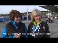 What is the most memorable thing for you at Sochi Games?